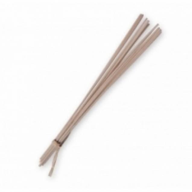 Ротанговые палочки для диффузоров GOA   белые 18см