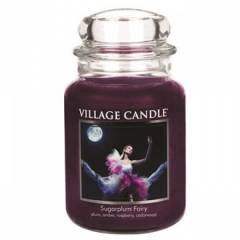 Свеча  Village Candle Сахарная слива 740г (время горения до 170ч)