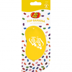 Ароматизатор для авто Банан 3D Jelly Belly 18г