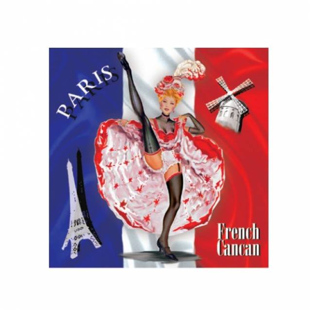 Ароматическое саше Le Blanc Французский канкан Триколор (Ирис) 8г 1697S