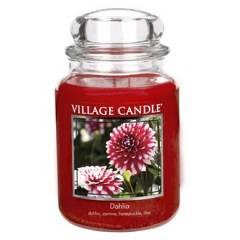 Свеча Village Candle  Георгины 740г (время горения до 170ч)