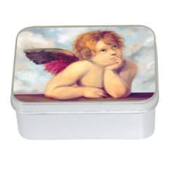 Натуральное мыло  в  жестяной упаковке Le Blanc Ангел E (Роза) 100г