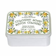 Натуральное мыло  в жестяной упаковке Le Blanc Одеколон 100г
