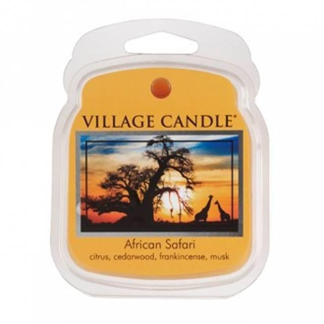 Аромавоск для аромаламп Village Candle Африканское сафари  62г Время плавления: до 8 часов.