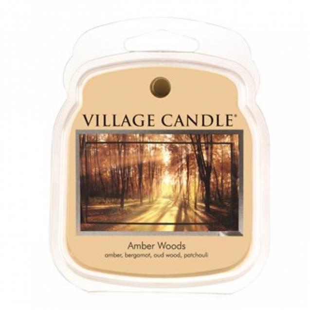 Аромавоск для аромаламп  Village Candle Янтарные деревья  62г Время плавления: до 8 часов.