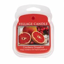 Аромавоск для аромаламп Village Candle Клюква грейпфрут  Премиум 62г Время плавления: до 8 часов.