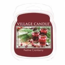 Аромавоск для аромаламп Village Candle Клюквенный фестиваль   62г Время плавления: до 8 часов.