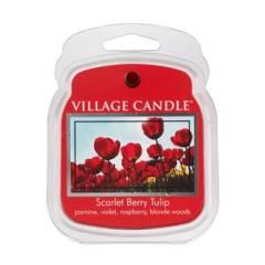 Аромавоск для аромаламп Village Candle Алые тюльпаны  62г Время плавления: до 8 часов.
