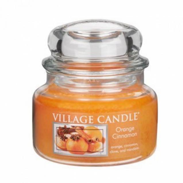 Свеча Village Candle Апельсин корица   (время горения до 55ч)