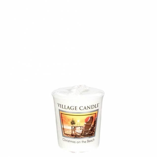 Свеча Village Candle Рождество на пляже Премиум  (время горения до 16ч)