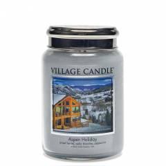 Свеча Village Candle Праздничный Аспен (время горения до 170ч)