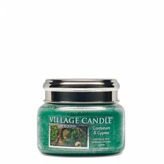 Свеча Village Candle Кардамон и кипарис  (время горения до 55ч)