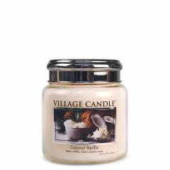 Свеча Village Candle Кокос и ваниль (время горения до 105ч)