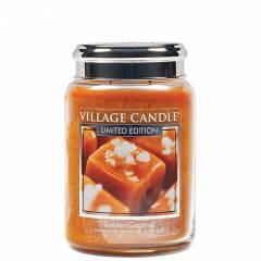 Свеча Village Candle Золотая карамель (время горения до 170ч)