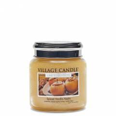 Свеча Village Candle Пряное яблоко с ванилью (время горения до 105ч)
