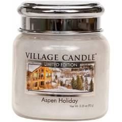 Свеча Village Candle Праздничный Аспен (время горения до 25ч)