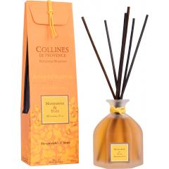 Аромадиффузор Collines de Provence Мандарин и Юдзу Duos Parfumé (Дуэт), 100мл