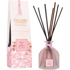 Аромадиффузор Collines de Provence Роза и Гибискус Duos Parfumé  (Дуэт),100мл
