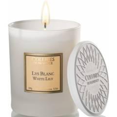 Свеча Collines de Provence Белая лилия Les Naturelles (время горения 40 часов)