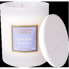 Свеча Collines de Provence Голубая сирень Les Naturelles (время горения 40 часов)