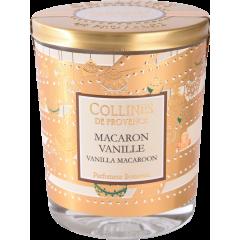 Свеча Collines de Provence Ванильные макарон Christmas (время горения 40 часов)