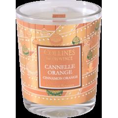 Свеча Collines de Provence Апельсин-корица Christmas (время горения 15 часов)