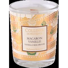 Свеча Collines de Provence Ванильные макарон Christmas (время горения 15 часов)