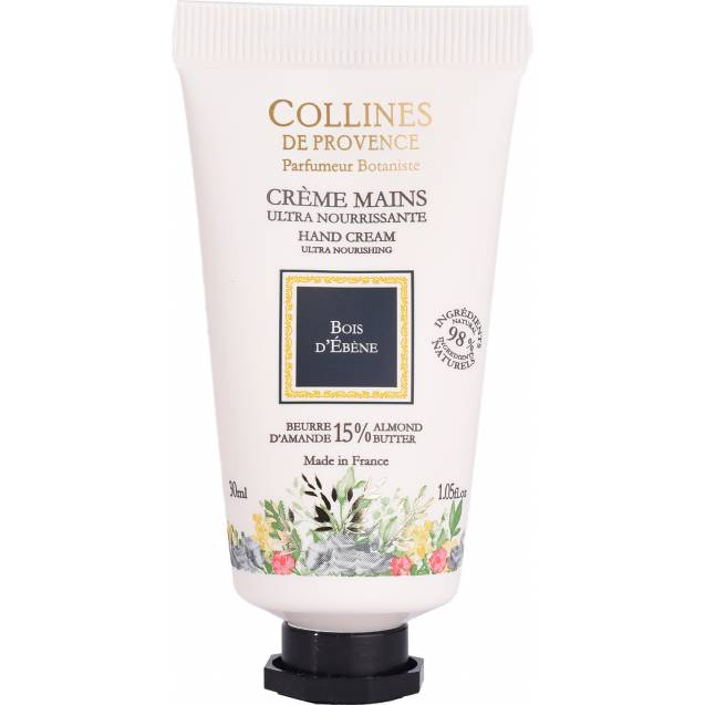 Крем для рук Collines de Provence Черное дерево, 30мл