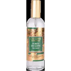 Спрей для комнаты Collines de Provence Еловый лес Christmas (Новогодняя) 100мл