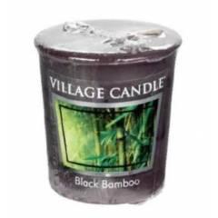 Свеча Village Candle Черный бамбук (время горения до 16ч)