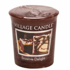 Свеча Village Candle Шоколадный брауни  (время горения до 16ч)