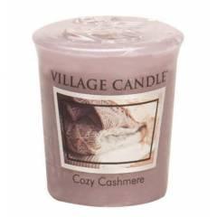 Свеча Village Candle Уютный кашемир  (время горения до 16ч)