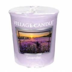 Свеча Village Candle Лаванда (время горения до 16ч)