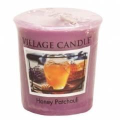 Свеча Village Candle Медовый пачули  (время горения до 16ч)