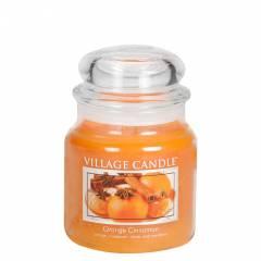 Свеча Village Candle Апельсин корица  389г