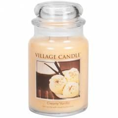 Свеча Village Candle Сливки с ванилью 602г
