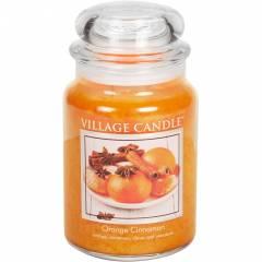 Свеча Village Candle Апельсин корица  602г