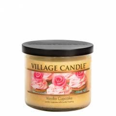 Свеча Village Candle Ванильный кекс 396г чаша