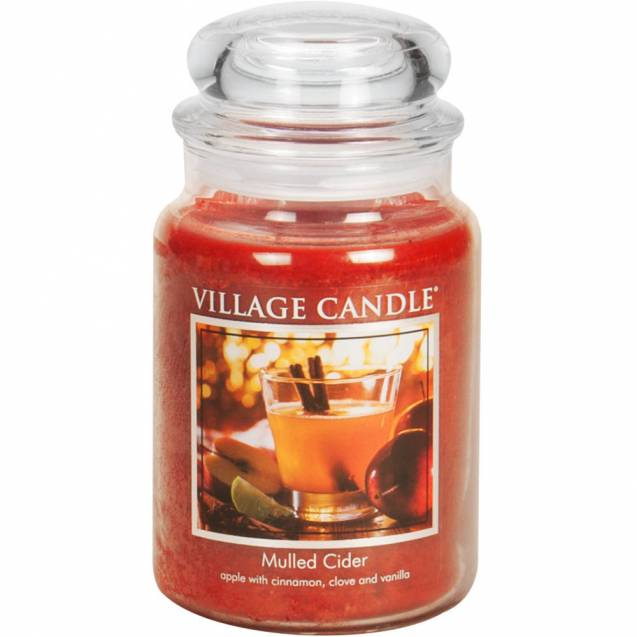 Свеча Village Candle Глинтвейн 602г