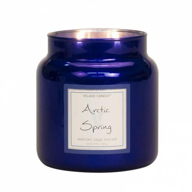 Свеча Village Candle Арктическая весна  (время горения до 105ч)