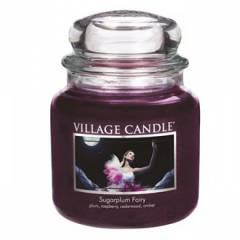 Свеча Village Candle Сахарная слива  (время горения до 105ч)