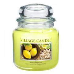 Свеча Village Candle Лимон фисташки  (время горения до 105ч)
