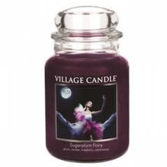 Свеча Village Candle Сахарная слива  (время горения до 170ч)
