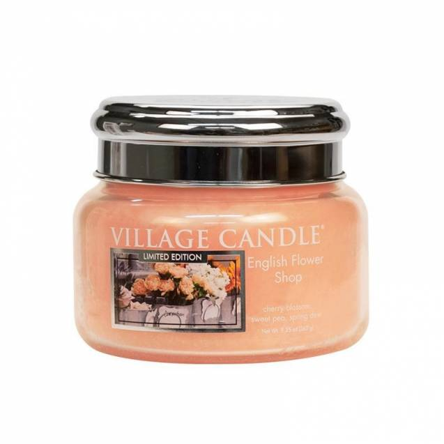 Свеча Village Candle Английский магазин цветов (время горения до 55ч)
