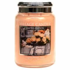 Свеча Village Candle Английский магазин цветов (время горения до 170ч)