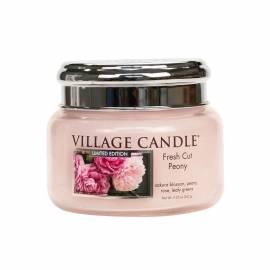 Свеча Village Candle Свежий Пион   (время горения до 55ч)