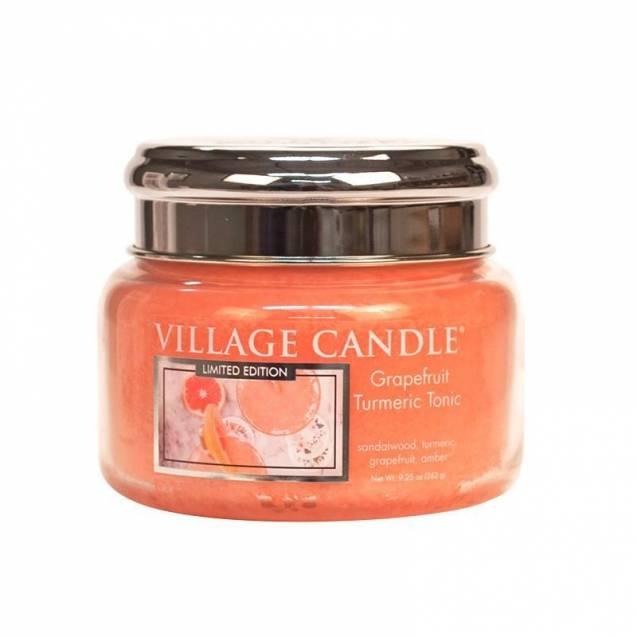 Свеча Village Candle Грейпфрутовый тоник с куркумой  (время горения до 55ч)