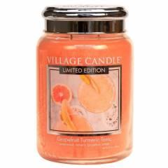 Свеча Village Candle Грейпфрутовый тоник с куркумой  (время горения до 170ч)