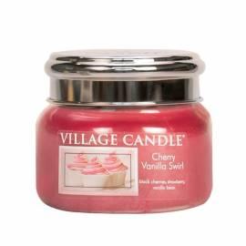 Свеча Village Candle Вишнево-ванильный вихрь  (время горения до 55ч)