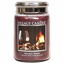 Свеча Village Candle Убежище в горах   (время горения до 170ч)